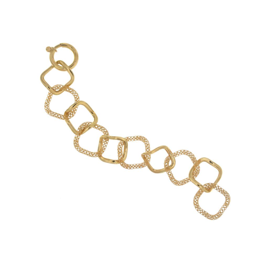 Bracciale in oro giallo.